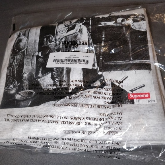Supreme Other - Supreme Mike Kelley Hiding From Indians Tee